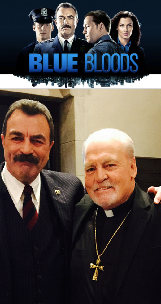 Stacy Keach with Tom Selleck