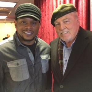 With Sway at Sirius Radio
