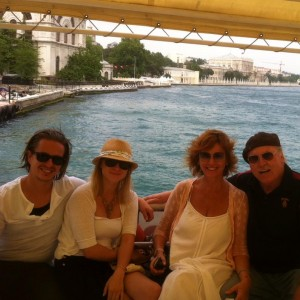 The family in Istanbul, 2011