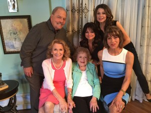 With the Hot In Cleveland gals