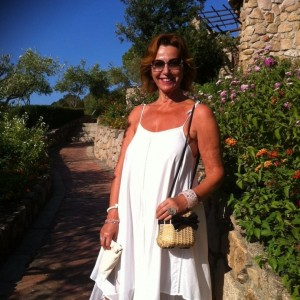 Wife, Malgosia in Sardina